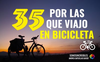 35 razones por las que viajo en bicicleta